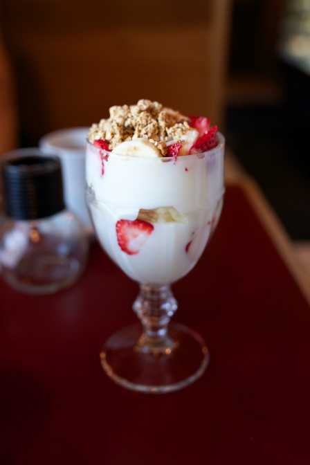 Parfait at Hole in One in Orleans, MA.