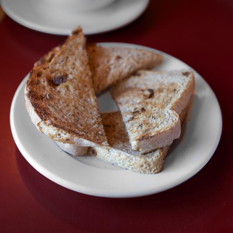 Raisin Bread Toast