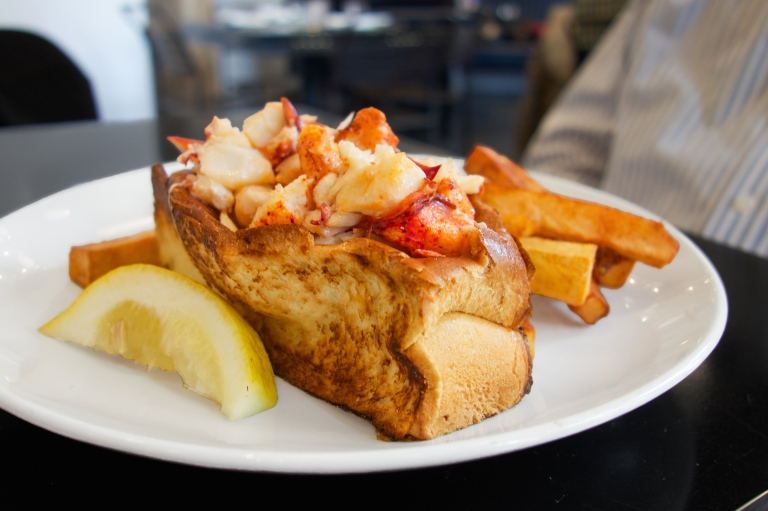 Warm Buttered Lobster Roll