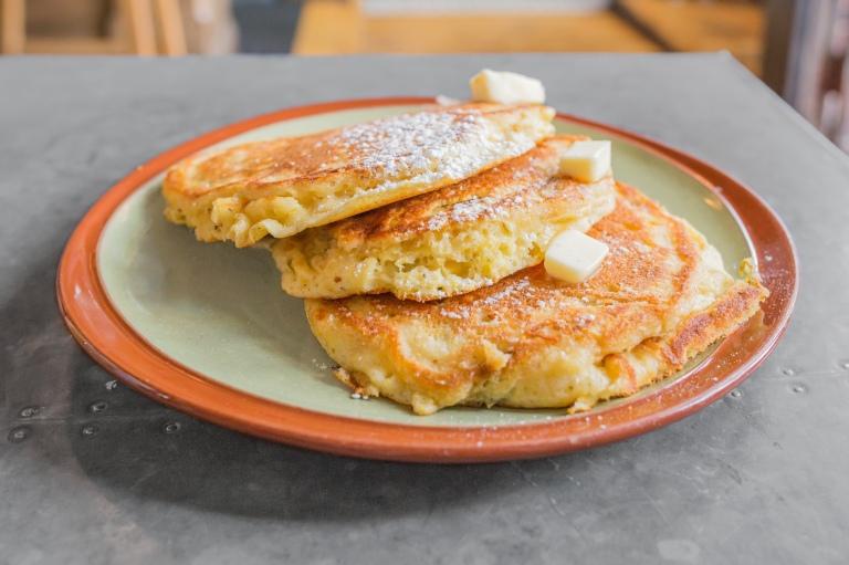 Lone Star Taco Bar's jalapeño corncake ($5).