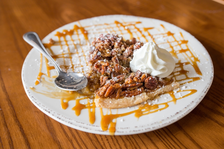 The Pit Durham barbecue bbq - brown butter pecan pie